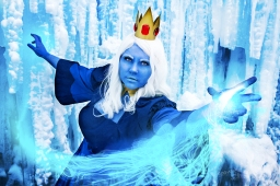 CanadianComicCutie as Adventure Time's  Ice Queen