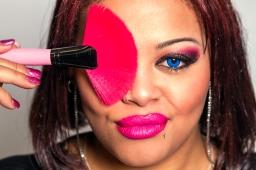 Brittany Ansah Makeup Promo Shoot